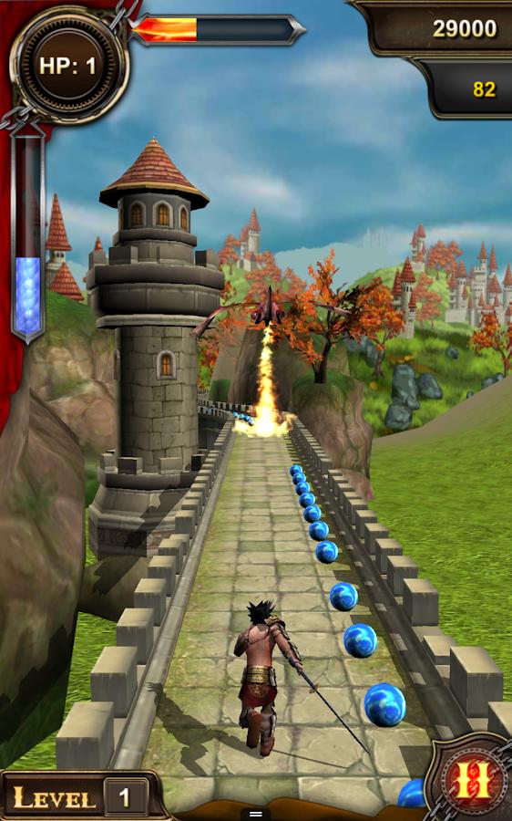 Menjalankan Quest: Temple Run - screenshot