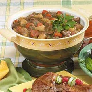 Traditional Lamb Stew.