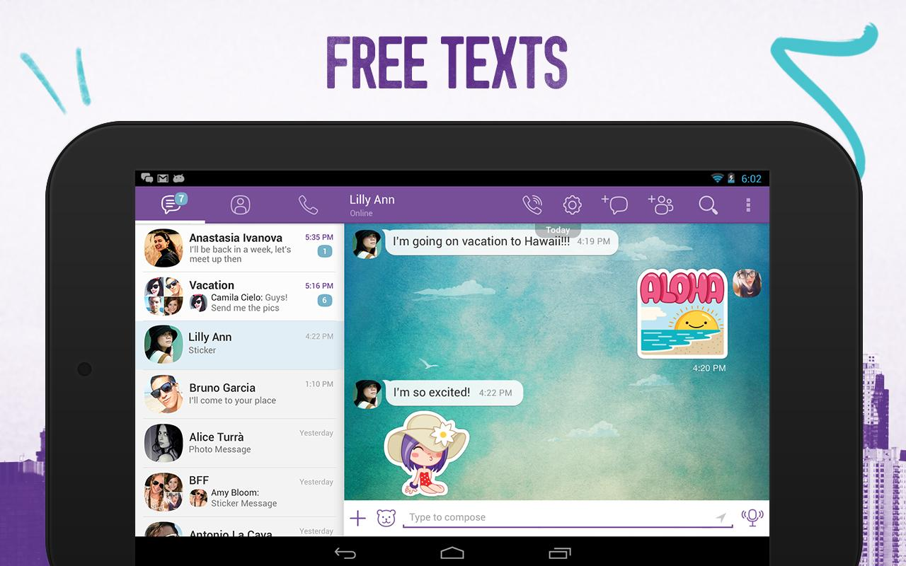 how to add contacts in viber tablet