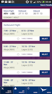 Arik Air- screenshot thumbnail