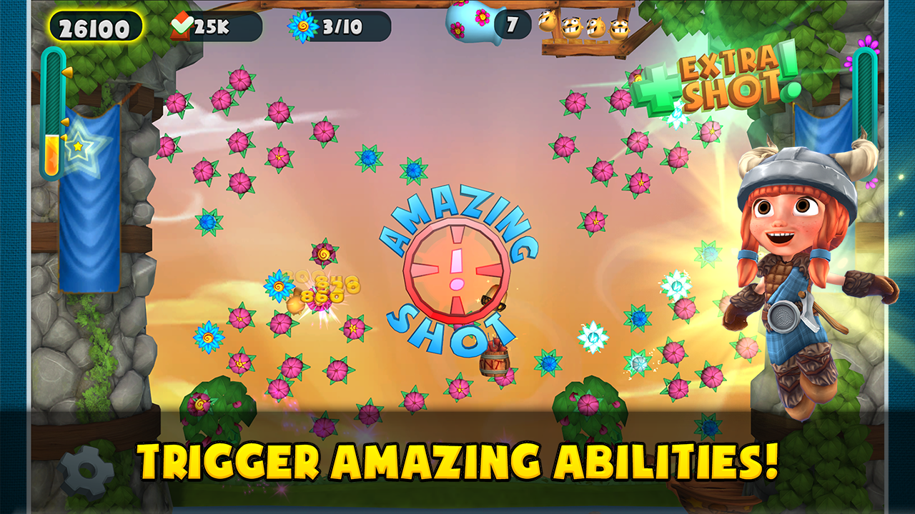 Flowerpop Adventures- screenshot