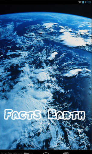 Earth facts