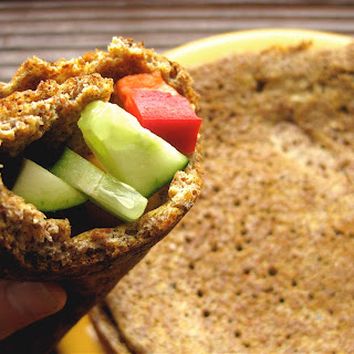 Easy Flaxseed Wrap (Gluten-Free)