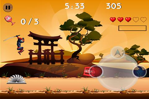 Ninjaken Free- screenshot