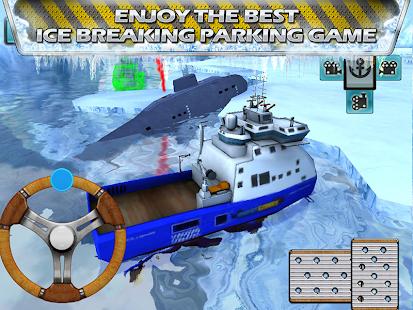 Icebreaker Boat Rescue Parking