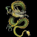 3D lucky dragon3 logo