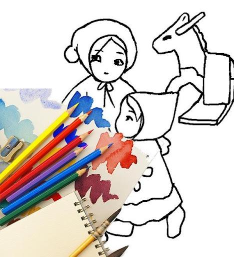 Kids Games : Princess Coloring
