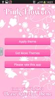 Screenshot of Pink Flowers Keyboard