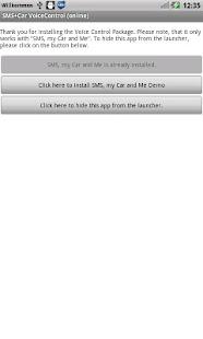SMS+Car offline Voice Control