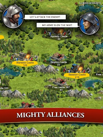 android Lords & Knights - Strategy MMO Screenshot 7