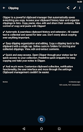 Clipper - Clipboard Manager Screenshot 5