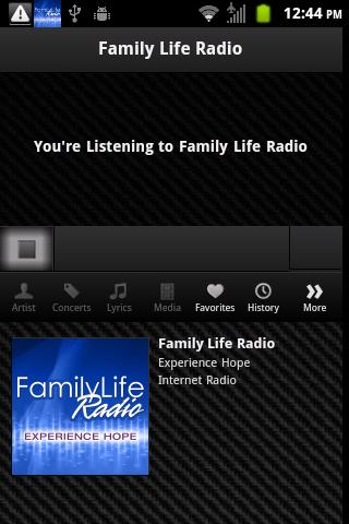 Family Life Radio - screenshot