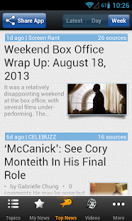 Movie & Box Office News - screenshot thumbnail