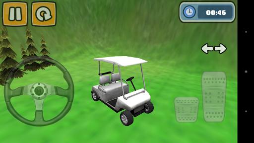 高尔夫球车停车位模拟器