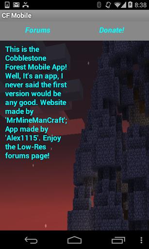 Cobbleforest Official App