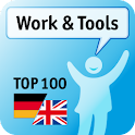 100 Work & Tools Keywords logo