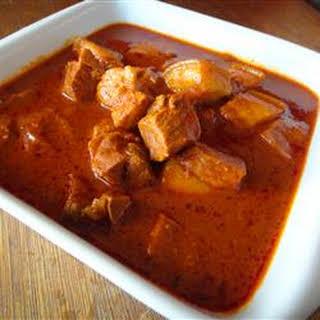Goan Pork Vindaloo.