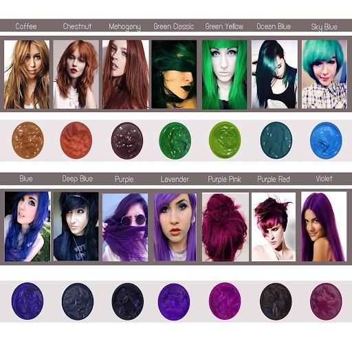 Change Haircolor Easy