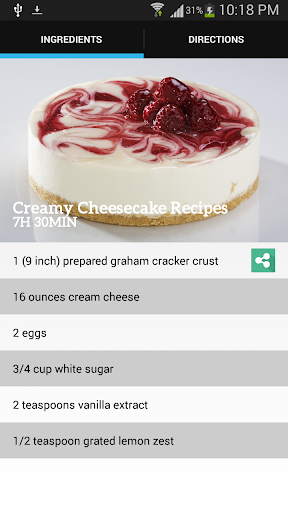 Creamy Cheesecake Recipes