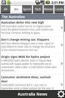 Screenshot of News Australia