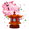 Sakura's Bridge Live Wallpaper icon
