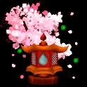 Sakura's Bridge Live Wallpaper icon