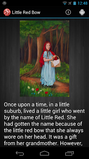 Little Red Bow-Red Riding Hood