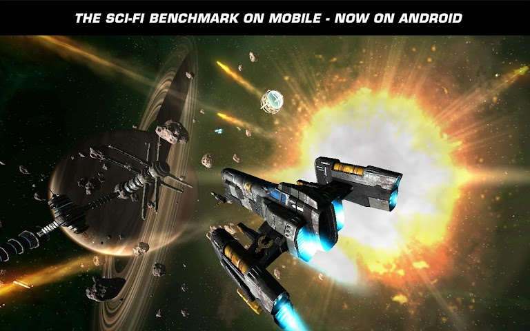Screenshot 1 Galaxy on Fire 2™ HD
