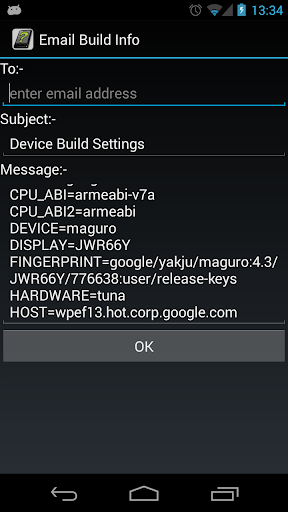 OS Build in Android