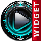 Poweramp Widget Turquoise