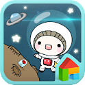 Space dodol launcher theme icon