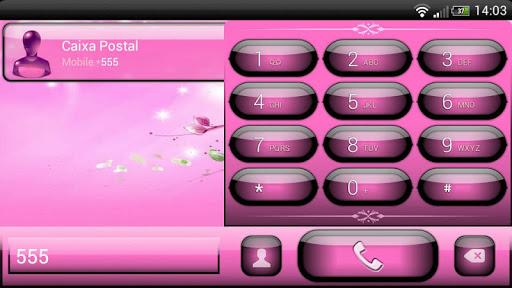 玩個人化App|exDialer Jelly Pink Theme免費|APP試玩