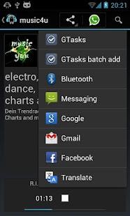 laut.fm Android- screenshot thumbnail