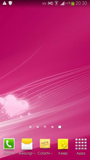 純色靜態壁紙牆紙HD-粉紅色