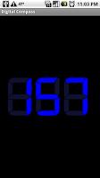 Screenshot of Digital Compass