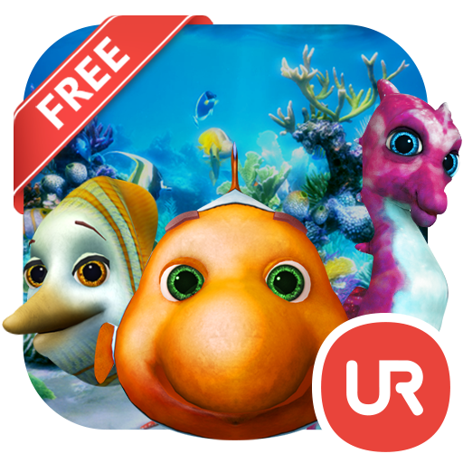 UR 3D Aquarium Friends Live 個人化 App LOGO-硬是要APP