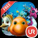 UR 3D Aquarium Friends Live