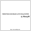 Christmas Baubles Live WP icon