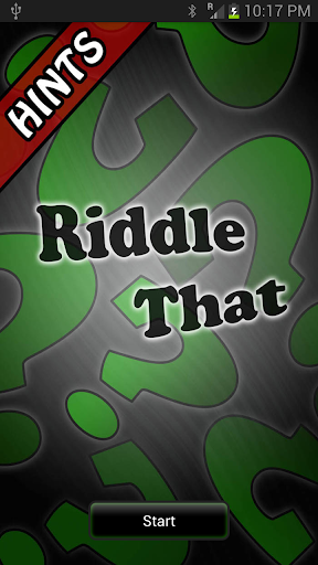 Riddle That Hints