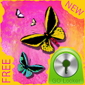 Butterfly Theme for GO Locker icon