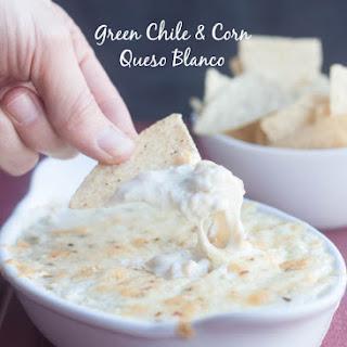 Green Chile and Corn Queso Blanco