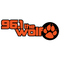 96.1 The Wolf WKWS logo