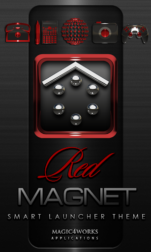 Smart Launcher Theme R Magnet