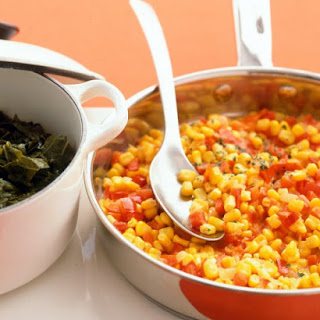 Spicy Corn and Peppers.