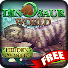 Dinosaur World Hidden Numbers icon