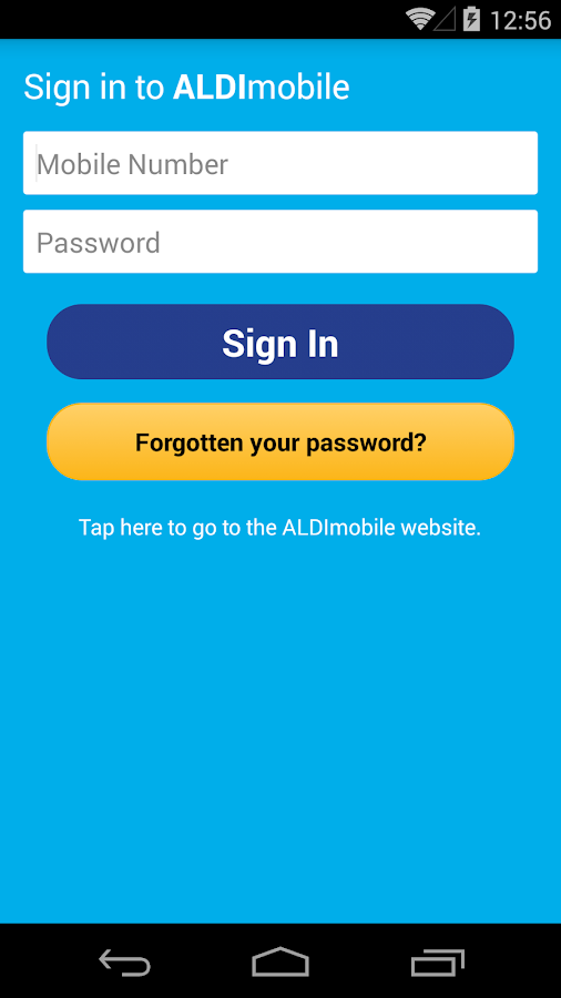 ALDImobile- screenshot