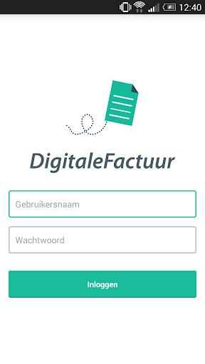 DigitaleFactuur - Phone App