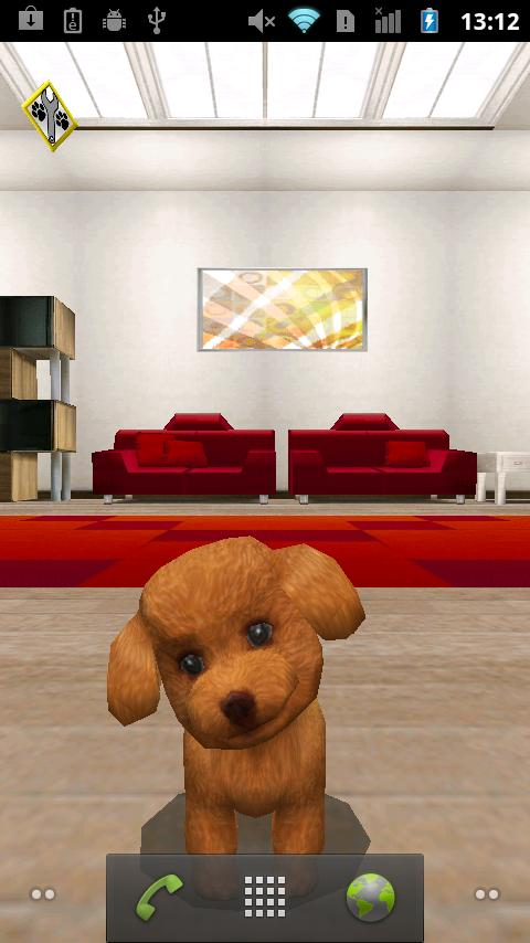 My puppy Live wallpaper free- screenshot