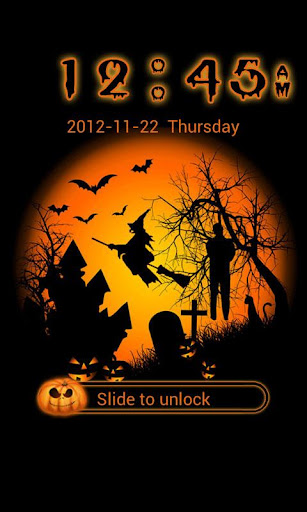 GO Locker Halloween 2 Theme