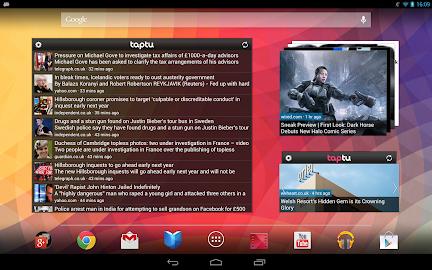 Taptu - DJ your News Screenshot 4